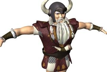 lightwave viking warrior