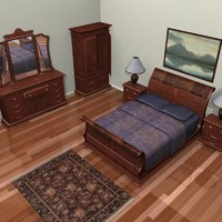 max bedroom set sleigh bed