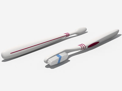 3dsmax toothbrushes simple oral-b