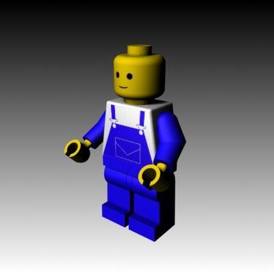 lego toys 3d model