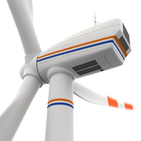 turbine power energy 3d model