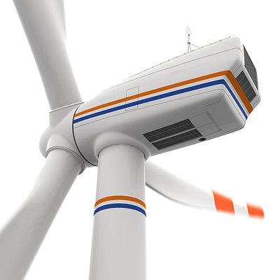 turbine power energy 3d model
