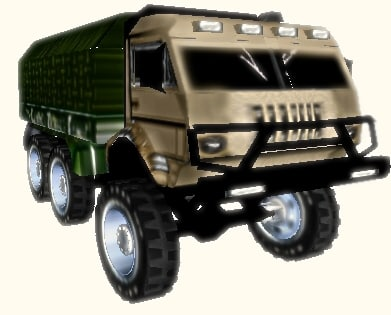 army kamaz 3d 3ds
