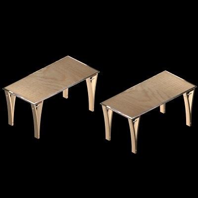 3d model tannon desk