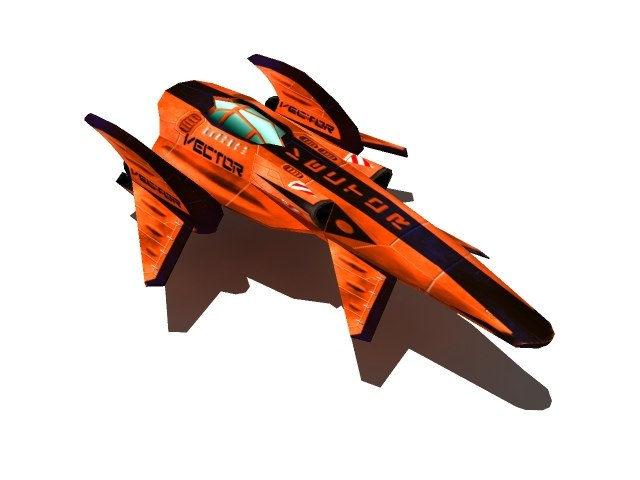 3ds racing ship
