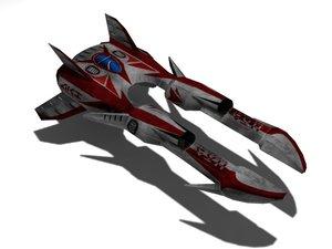 3d 3ds racing ship
