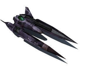 3ds max racing ship