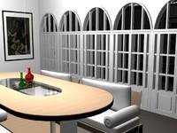 dg room 3d model