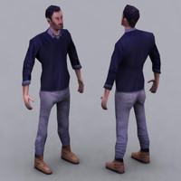 3d max human character