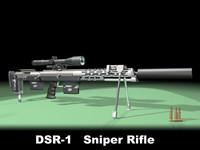 dsr sniper rifle max free