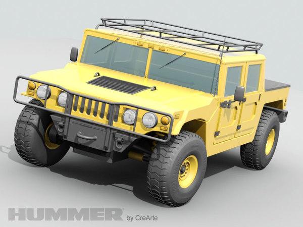 hummer jeep 3d model