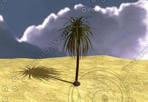 3d model dates tree
