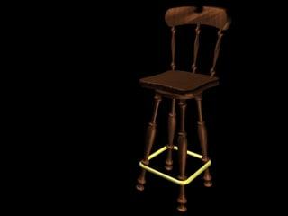 bar stool c4d