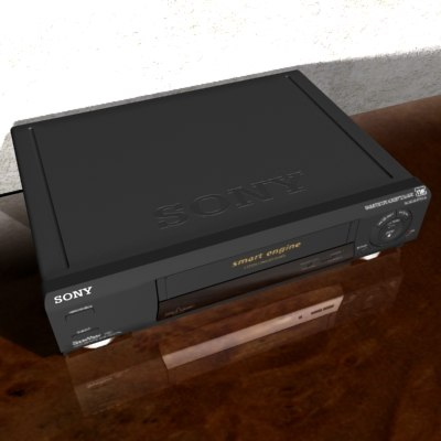 sony slv e430 3d model