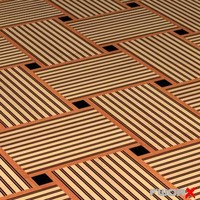 3d floor tile mat