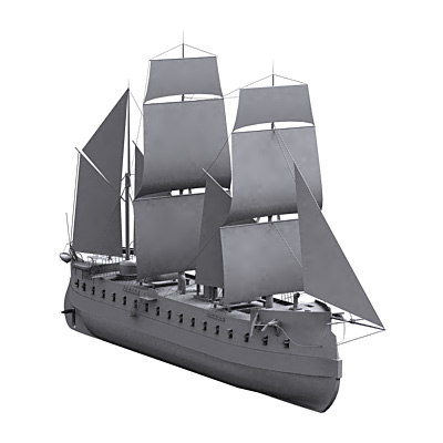 ship ironclad 3ds