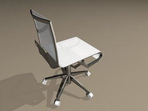 office meeting chair 3d model