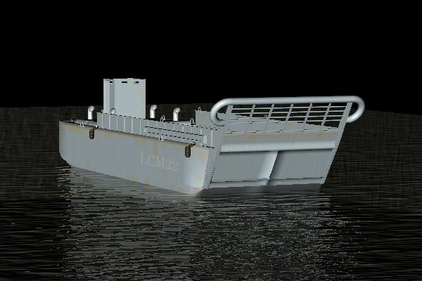 free boat 3d model