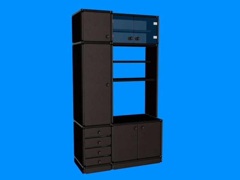 3ds max hi wardrobe