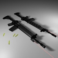 3ds max tactical sig special commando rifle