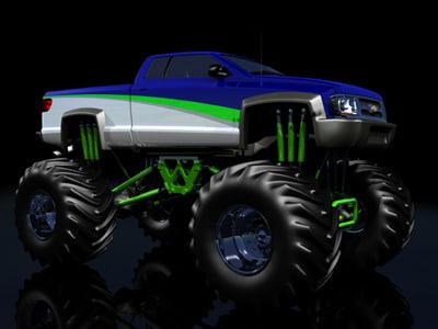 lwo custom monster truck
