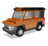 lego element 3d lwo