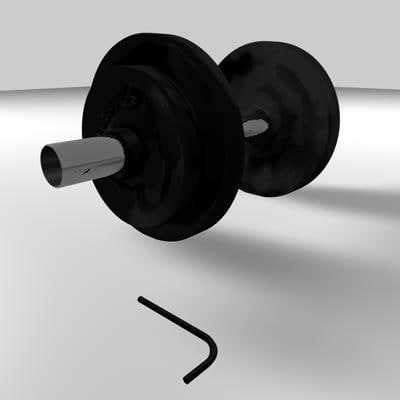 home weights 3d 3ds