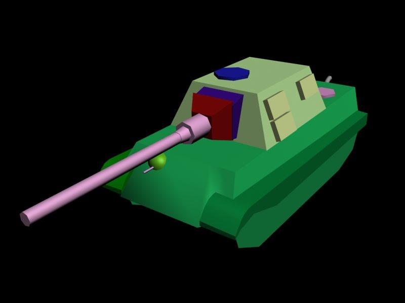 3d german ww2 tank destroyer model