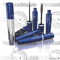 3ds max mascara cosmetics eyelash