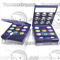 3d model eyeshadow eye