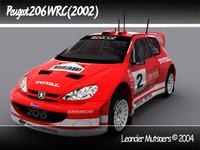 Peugeot 206 WRC (2002) TEXTURED