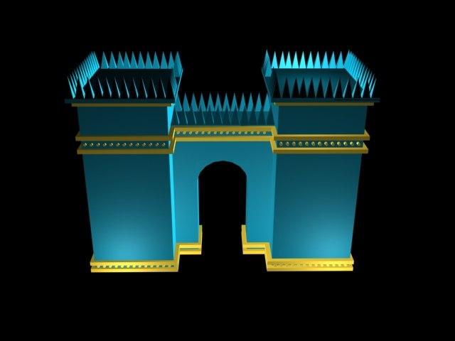 gate ishtar 3d model