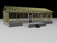 3d home construction model