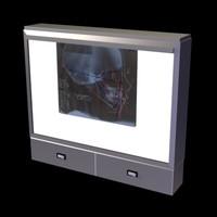 light box 3d model