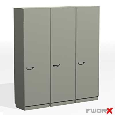 free wardrobe dresser 3d model