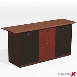 sideboard furniture 3d max