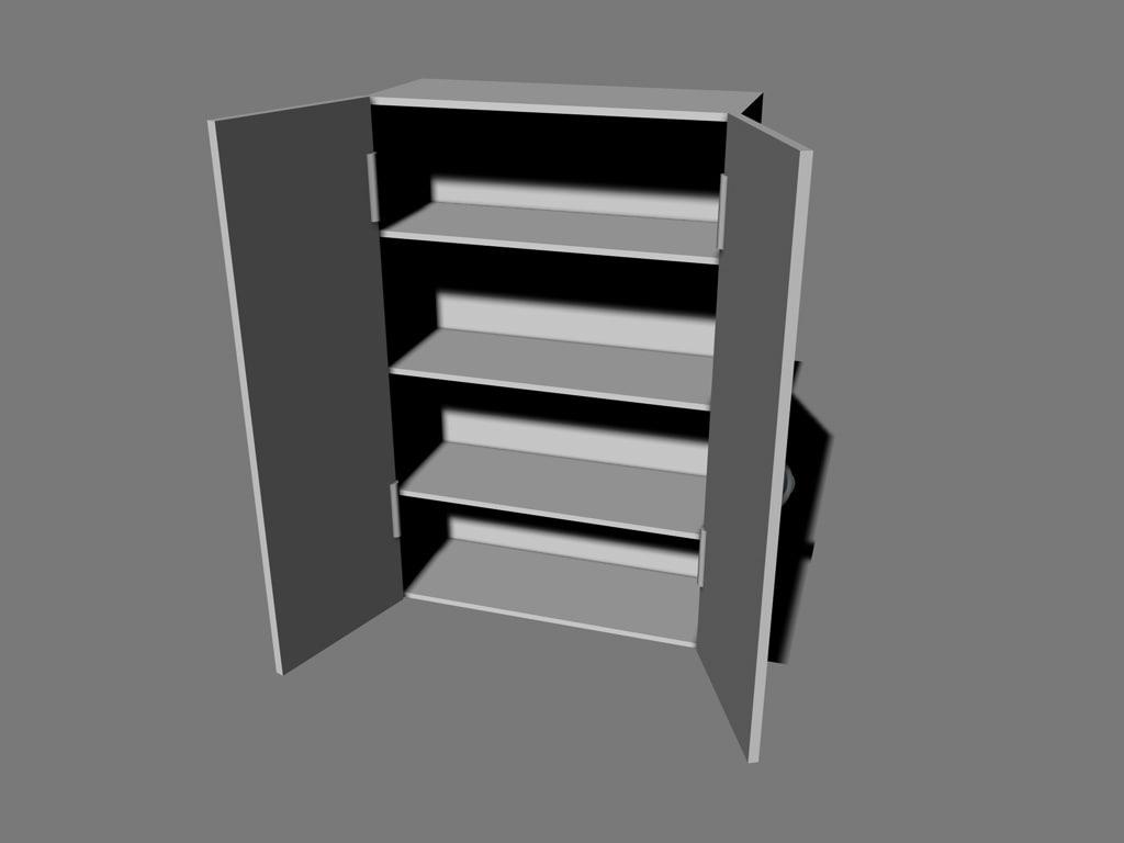cupboard c4d