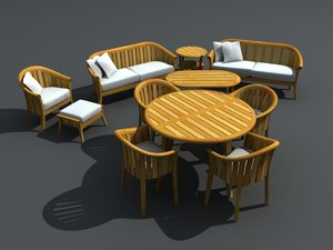maya patio furniture set