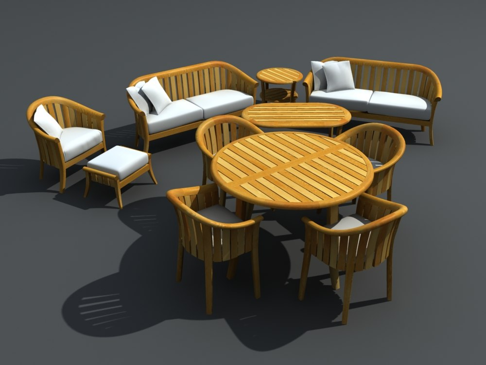 maya patio furniture set