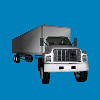 3d gmc semi truck