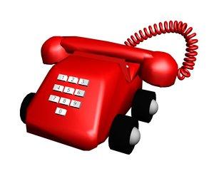 3d model phone toy