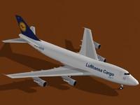 Boeing 747-200 F Lufthansa Cargo