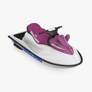 sea doo water 3d model
