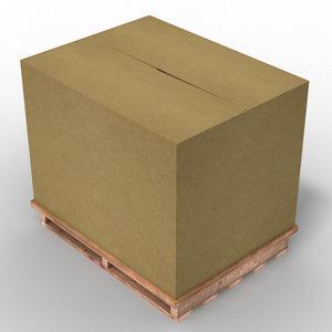 3d model shipping case