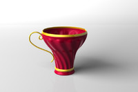 lw red tea cup