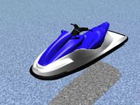 wave runner 3d model