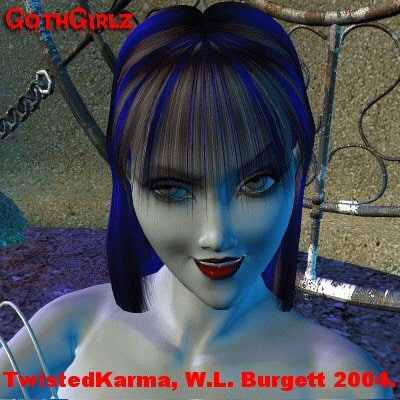poser gothgirl2 l 3d model