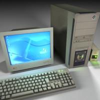 3d computer model