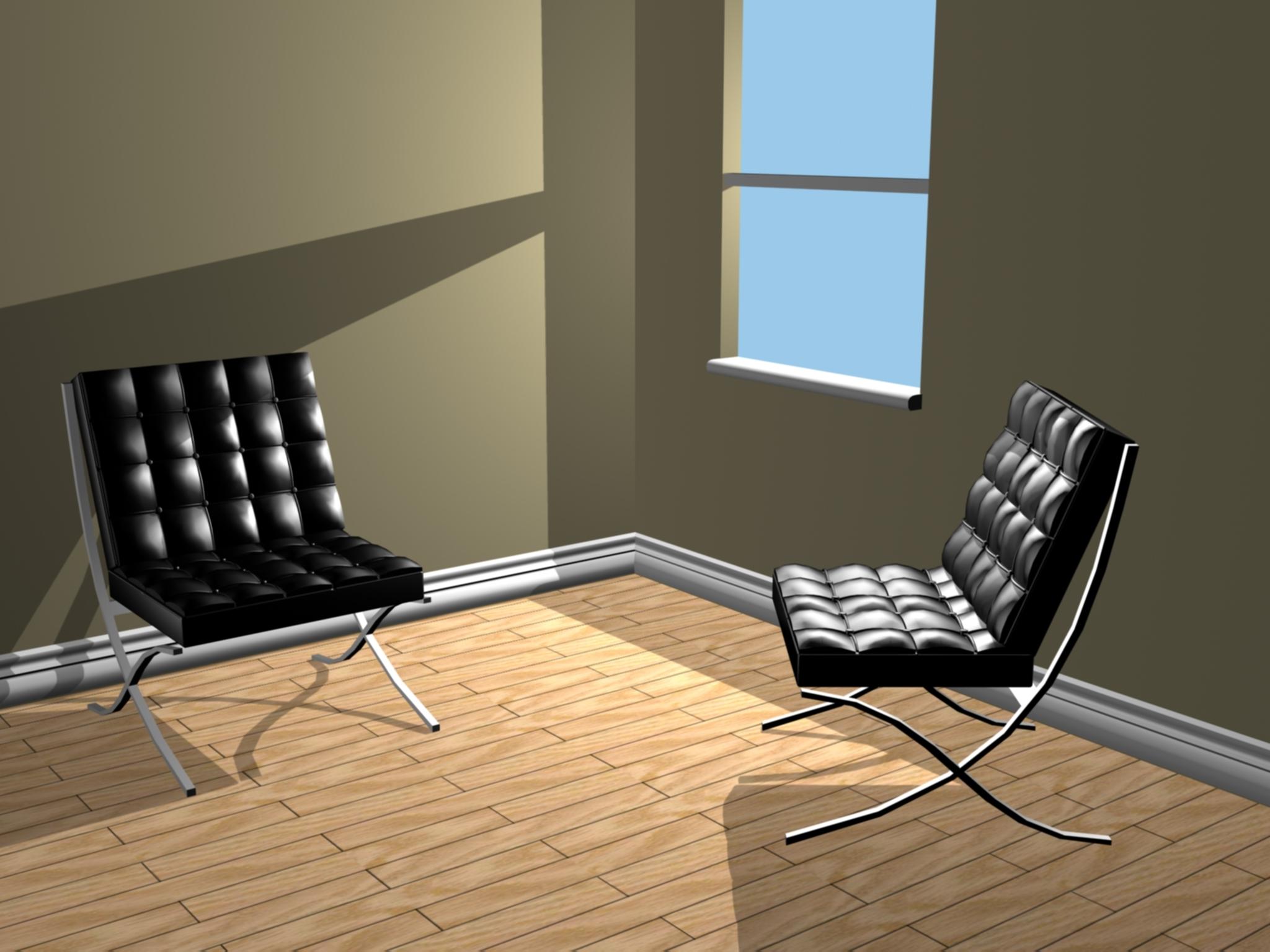 Fabulous Barcelona Chair Ibusinesslaw Wood Chair Design Ideas Ibusinesslaworg