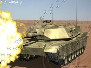abrams autocad 3d model